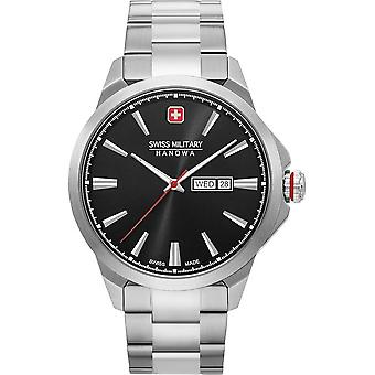 SWISS MILITARY-HANOWA - Montre - Hommes - DAY DATE CLASSIC - 06-5346.04.007