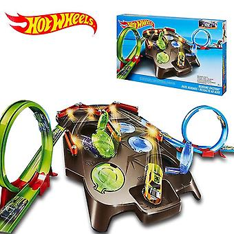 Hot Wheels Rebound Raceway, Play Set, Double Athletics Track Racing Toy, Kids