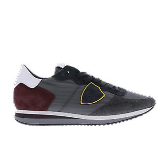 Philippe Model TRPX L UMONDIAL ANTHRACITE BOR Red TZLUW053W053 shoe