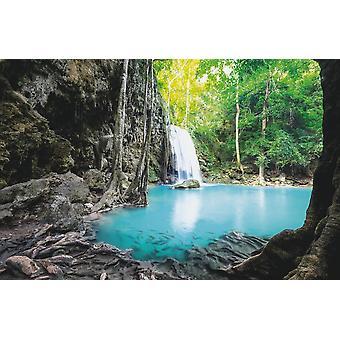 Cachoeira Mural Erawan Cascade (400x260 cm)
