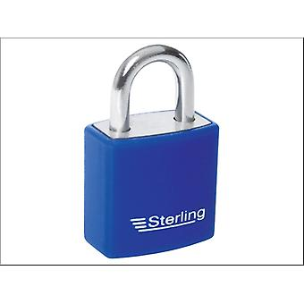 Sterling (Padlocks) Aluminium Padlock Single Lock 20mm APL022P