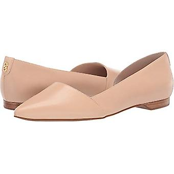 Cole Haan Women's Shoes Bambra Skimmer II Leather Pointed Toe Slide Flats