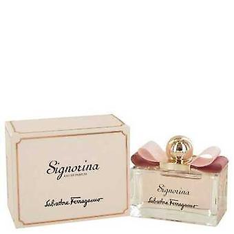 Signorina by Salvatore Ferragamo Eau de Parfum Spray 3,4 oz (naiset) V728-491304