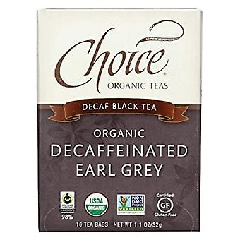 Choice Organic Teas Decaffeinated Earl Grey