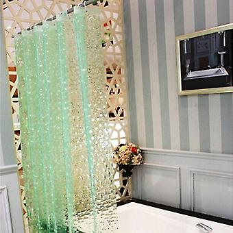Waterproof 3d Thickened Bathroom Bath Shower Curtain