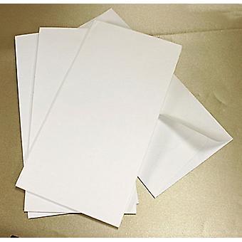 10 buste DL bianche testurti