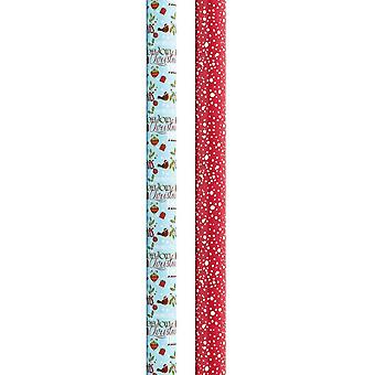 The Smith Reversible Gift Wrap 3Mx69CM (Approx)