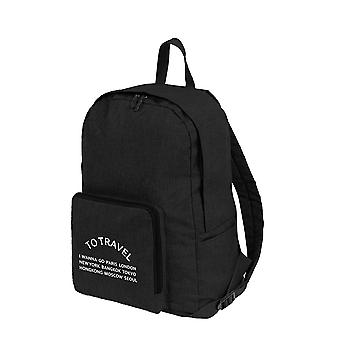 Canvas Female Book Bag / Backpack 5pcs/set School Bag/ Travel Pack