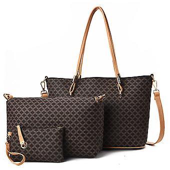 3-قطعة حقيبة يد سيدة واحدة الكتف