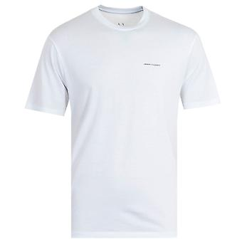 Armani Exchange Small Logo T-Shirt - White