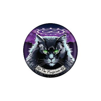 Deadly Tarot The Magician Felis Badge