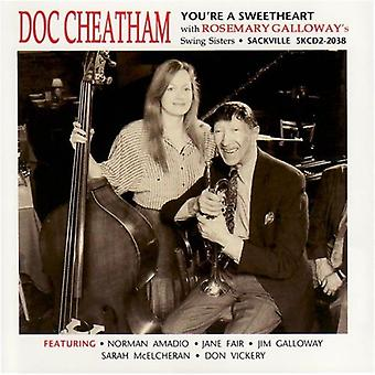 Doc Cheatham & Swing Sisters - You're a Sweetheart [CD] USA import