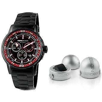 Momo design watch pilot pro chrono quarzo md2164bk-40