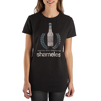 Beer apparel shameless tshirt juniors graphic tee