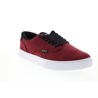 Osiris Slappy VLC  Mens Red Canvas Skate Inspired Sneakers Shoes
