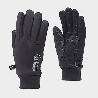 New North Ridge Women's Insulated Grip Gloves Black