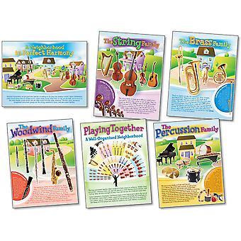 Musical Instruments Bulletin Board Set