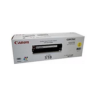 Canon Cart318Y Yellow Toner For Lbp7200Cdn Lbp7680Cx