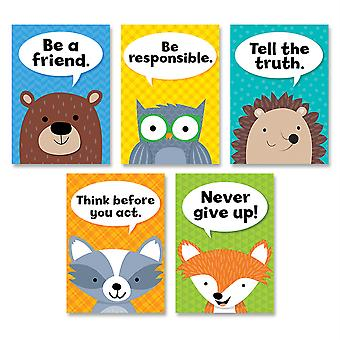 Woodland Friends Character Traits Inspire U 5-Poster Pack