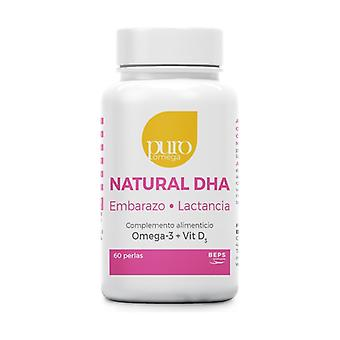 Natural DHA Pregnancy and Lactation 60 softgels