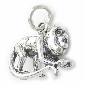 Howler Monkey Sterling Silver Charm .925 X 1 Howling Monkies Charms - 3589