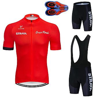 Short Sleeve Men's Cycling Jersey