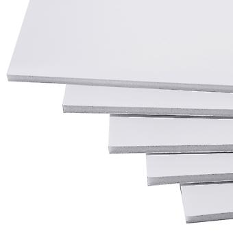 Cathedral Products Foamboard White 5mm A4 (210x297mm) Pack of 20