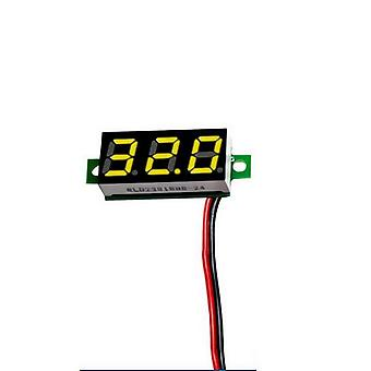 Mini Digital Voltmeter, Voltmeter With Reverse Polarity Protection