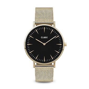 Cluse Unisex La Behème Gold Circle Quartz Fashion Watch CW0101201014