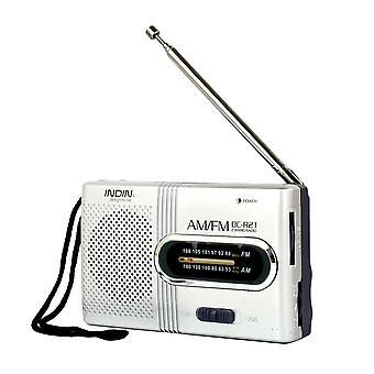 Drahtlose Mini-Radio, Bin, Fm Empfänger, Teleskopantenne, Mini tragbare Tasche