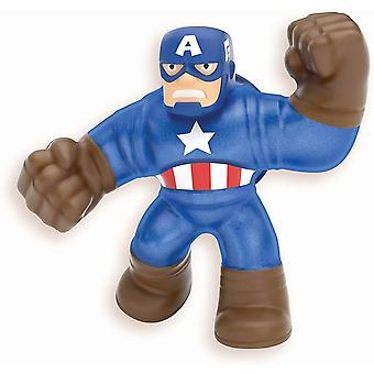 Heroes of goo jit zu marvel supagoo captain america