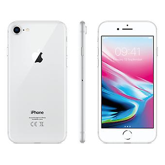 iPhone 8 - 256 GB - silver A Grade + Speck-fodral