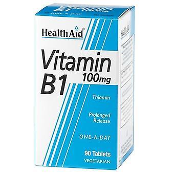 健康補助ビタミンB1チアミン90錠