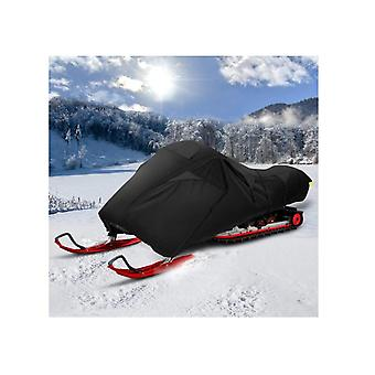 Waterproof Snowmobile Cover Fits Up Heavy Duty Storage Trailerable Cover