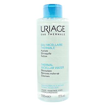 Uriage Thermale Micellar Water 500ml For Normal To Dry Skin
