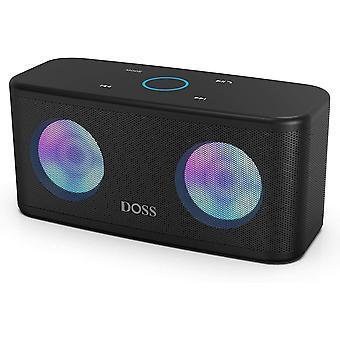 HanFei SoundBox Plus Kabellos Bluetooth Lautsprecher, 16 Watt Bluetooth Musikbox mit Dual-Treiber,