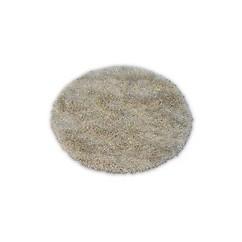 Rug LOVE SHAGGY circle design 93600 beige