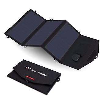 Allpowers Portable Flexible Solar Panel - Solar Power Charger 18V / 21W