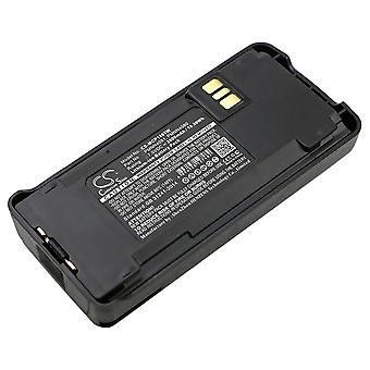 Battery for Motorola PMNN4080 PMNN4081 CP1200 CP1300 CP1600 CP185 CP476 EP350