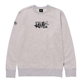 HUF Worldwide Sweatshirt/Hoodies Haze Handstyle 1 Crewneck