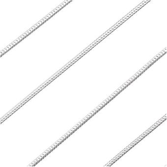 Sterling Silver Fine Snake Chain, 1mm, by the Foot