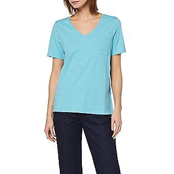 Marc O'Polo 9.03216E+11 Camiseta, Azul (Turquesa Suave 813), Mujer Pequeña