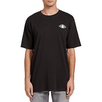 Volcom Vco Visions Short Sleeve T-shirt in zwart