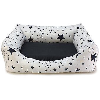 Arquivet Black Stars Bed Square Dog (Dogs , Bedding , Beds)