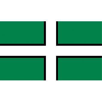 5ft x 3ft Flag - Devon - St Petroc