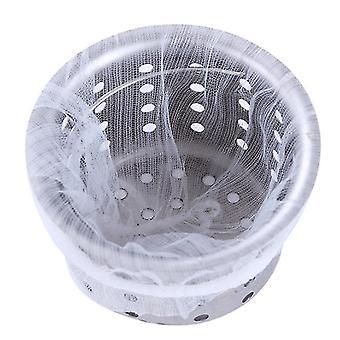 50Pcs disposable sink filter, garbage filter bag for bathroom kitchen anti-blocking az5175