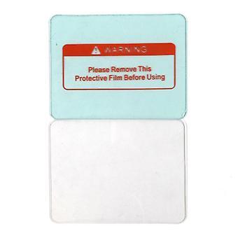 Udvendigt beskyttende plastdæksel Gennemsigtig svejsehjelm glaspladelinse