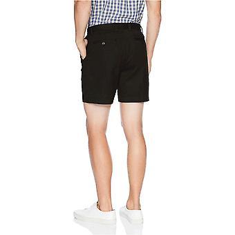"Essentials Men's Classic-Fit 7"" Short, Navy, 42, Black, Size 40"