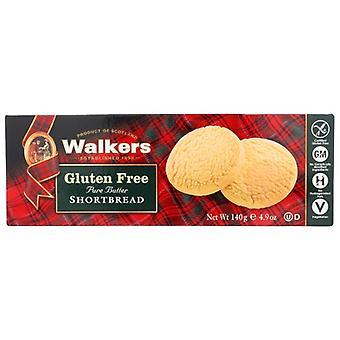 Walkers Cookie Gf Shrtbread Rond, Case of 6 X 4.9 Oz