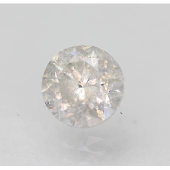 Sertifioitu 0,81 karat G SI2 pyöreä brilliant parannettu luonnollinen löysä timantti 5,71mm